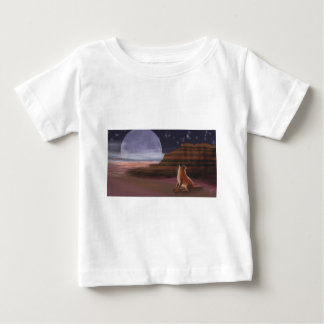 Howling at the Moon Baby T-Shirt