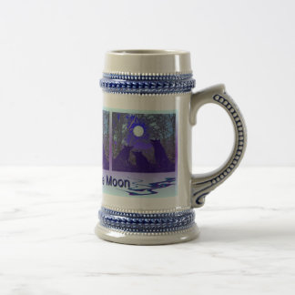 Howling at the Moon Beer Stein