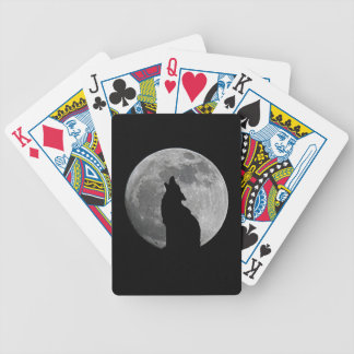 HOWLING AT THE MOON BICYCLE PLAYING CARDS