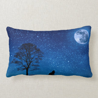 Howling at the Moon Pillow