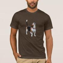 Howling Beagle Dog Funny T-Shirt
