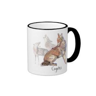 Howling Coyote Coffee Mug