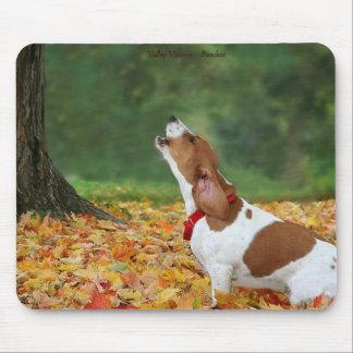 Howling Dog Mousepad