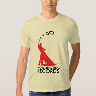 Howling dog tee shirt