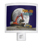 Howling Excavator Moon Night Lites
