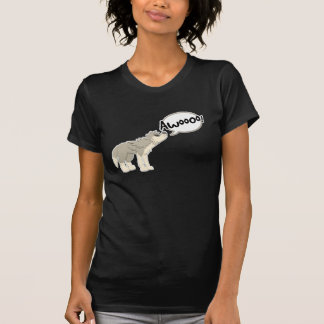 Howling Gray Wolf T-Shirt