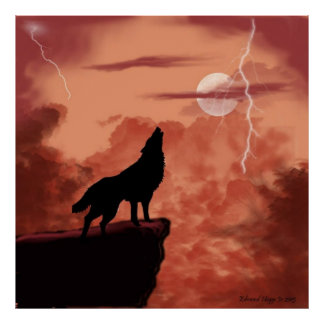 Howling In The Night Poster
