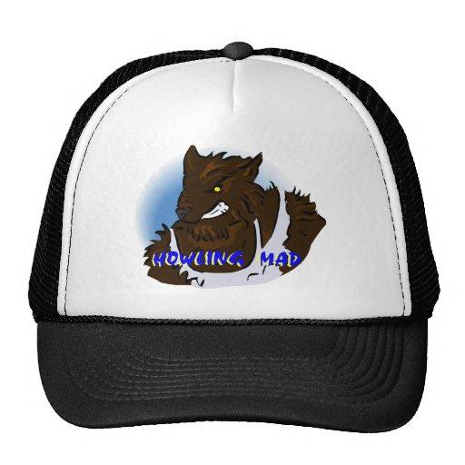 Howling Mad Werewolf Mesh Hats