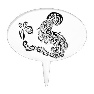 Howling Moon Cake Topper