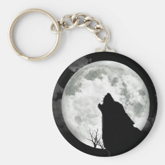 Howling Moon Keychains