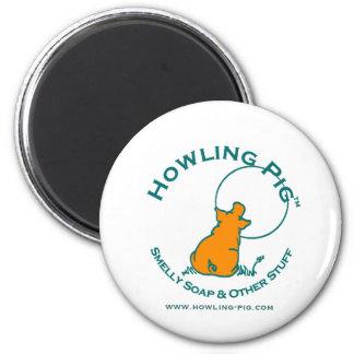 Howling Pig Magnet