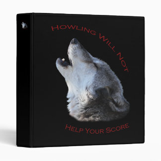 Howling...Score Binder