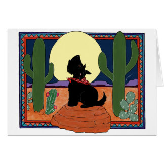 Howling Scot Greeting Cards