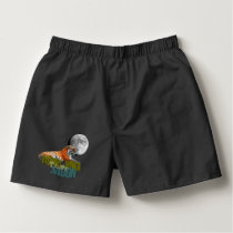 Howling Tiger Moon Boxers