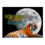 Howling Tiger Moon Post Cards