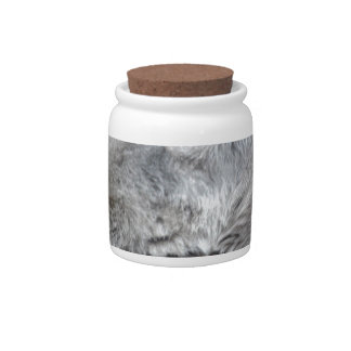 Howling Tundra Wolf Candy Dishes