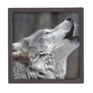 Howling Tundra Wolf Gift Box