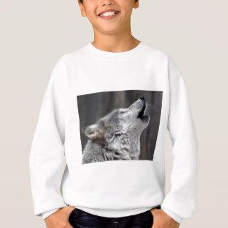 Howling Tundra Wolf Sweatshirt