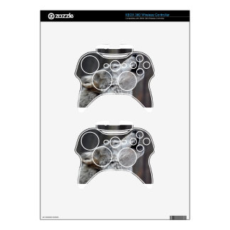 Howling Tundra Wolf Xbox 360 Controller Skins