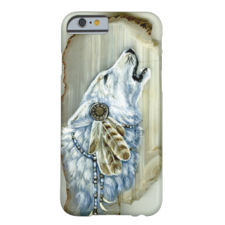 Howling White Wolf iPhone 6 Case