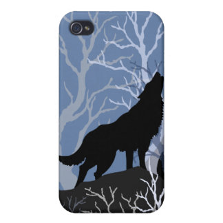 Howling Wolf 4G iphone case