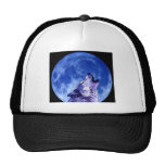 Howling Wolf at Moon Trucker Hat