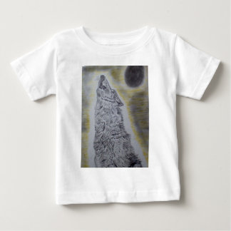 Howling Wolf Baby T-Shirt