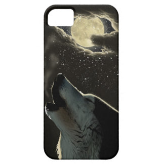 Howling Wolf Barely There Case iPhone 5 Cases