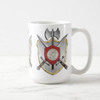 Howling Wolf Battle Crest Coffee Mug