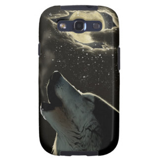 Howling Wolf Samsung Galaxy S3 Cases