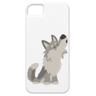 Howling Wolf Case-Mate Barely There™ iPhone 5 iPhone SE/5/5s Case