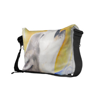Howling Wolf Courier Bag