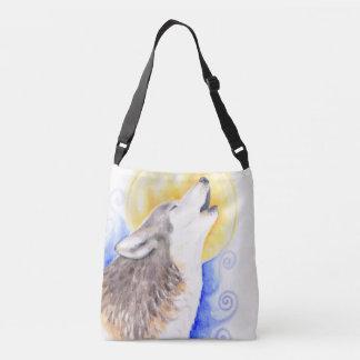 Howling Wolf Crossbody Bag