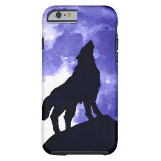Howling Wolf & Fullmoon Tough iPhone 6 Case