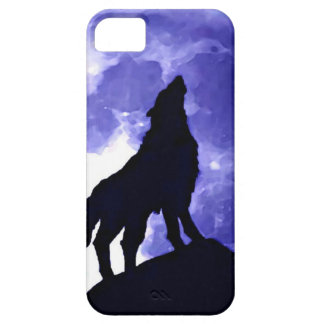 Howling Wolf & Fullmoon iPhone 5 Cases