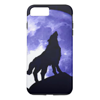 Howling Wolf & Fullmoon iPhone 7 Plus Case