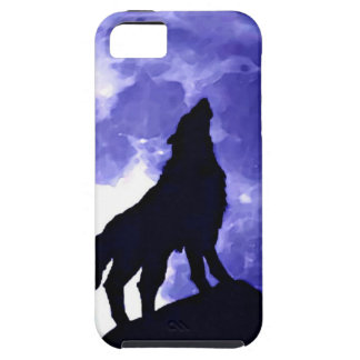 Howling Wolf & Fullmoon iPhone SE/5/5s Case