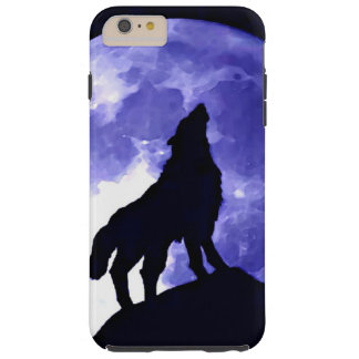 Howling Wolf & Fullmoon Tough iPhone 6 Plus Case