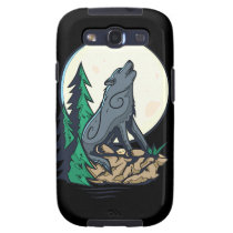 Howling Wolf Galaxy S3 Cover