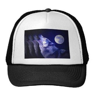 Howling Wolf Trucker Hats