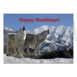 Howling Wolf Holiday Card