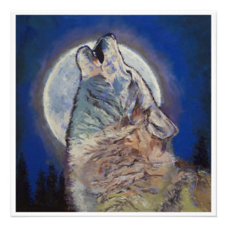 Howling Wolf Invitation