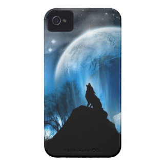 Howling Wolf iPhone 4 Case