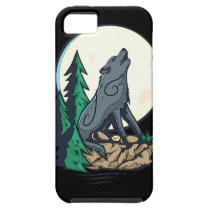 Howling Wolf iPhone 5 Cases