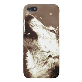 Howling Wolf iPhone 5 Case