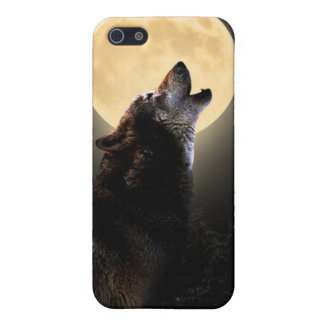 howling wolf ipod touch case