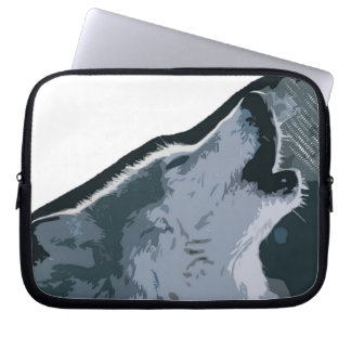 Howling Wolf Laptop Sleeve