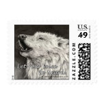 Howling Wolf~ Let your voice be heard! Stamp
