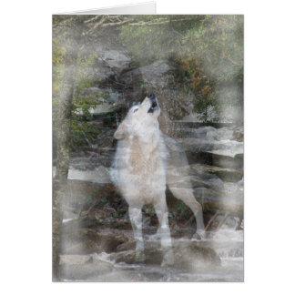 Howling Wolf Michi Card