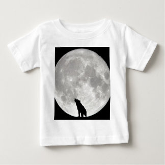 Howling Wolf Moon Baby T-Shirt